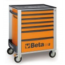 BETA WERKZEUGWAGEN ORANGE + 147tlg. EASY-Sortiment